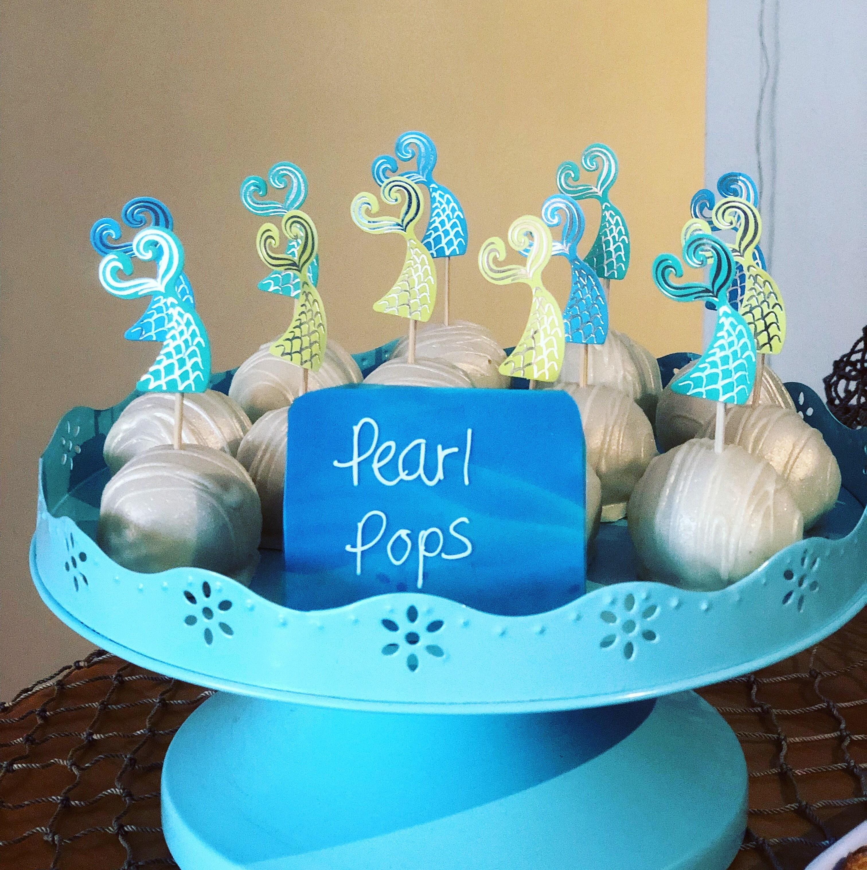 Cake pop Mermaid Party
