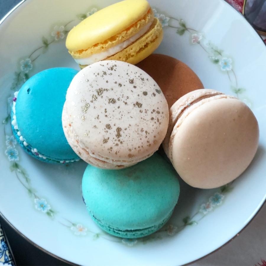 Macaron Afternon Tea