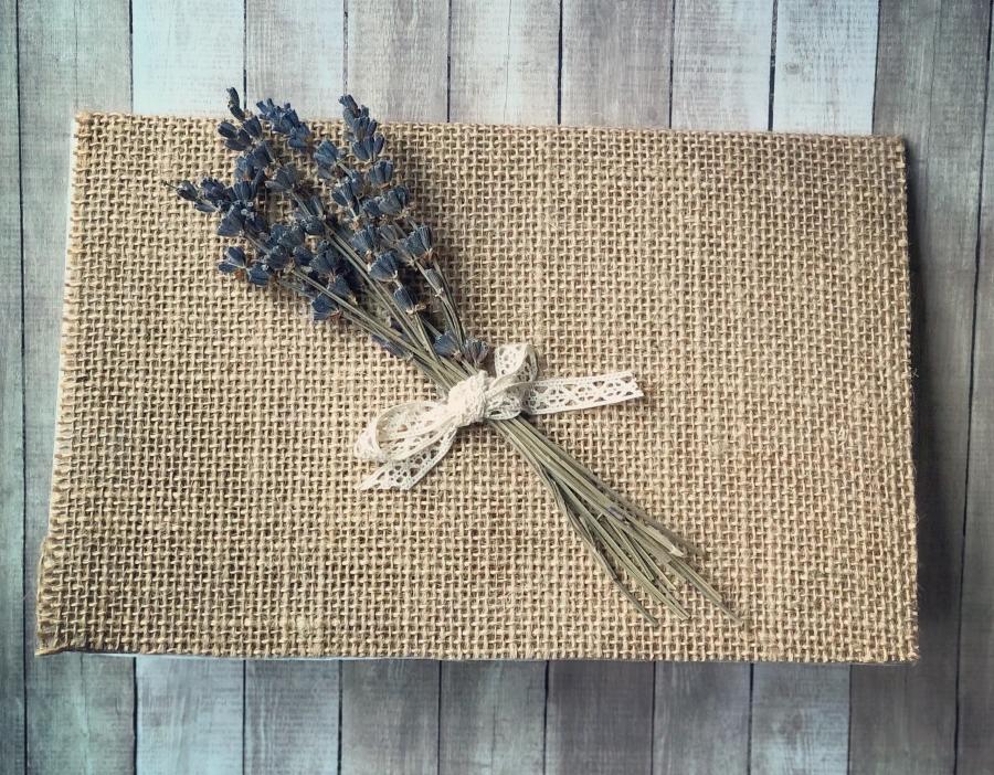 DIY Lavender Card