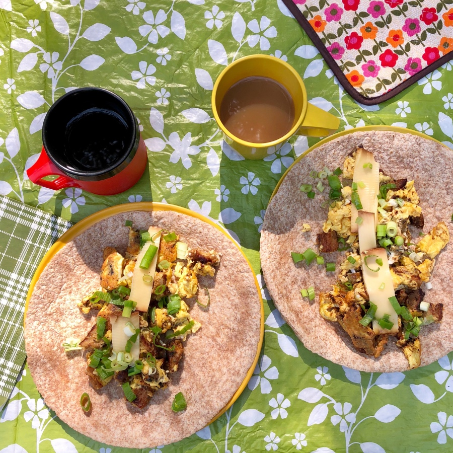 Camping Breakfast Wraps