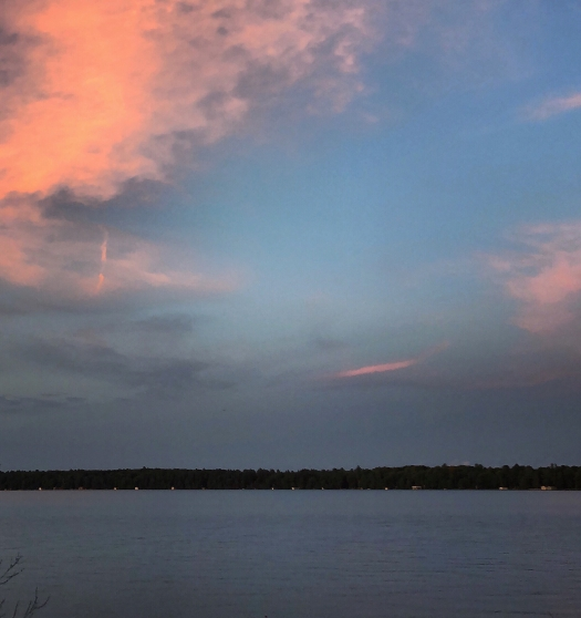 Balsam Lake sunset