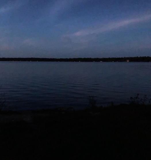 Balsam lake evening