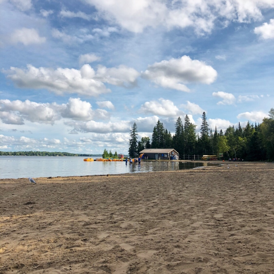 Balsam Lake Beach
