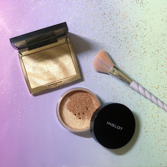 ABH Amrezy and Inglot Sparkling Dust