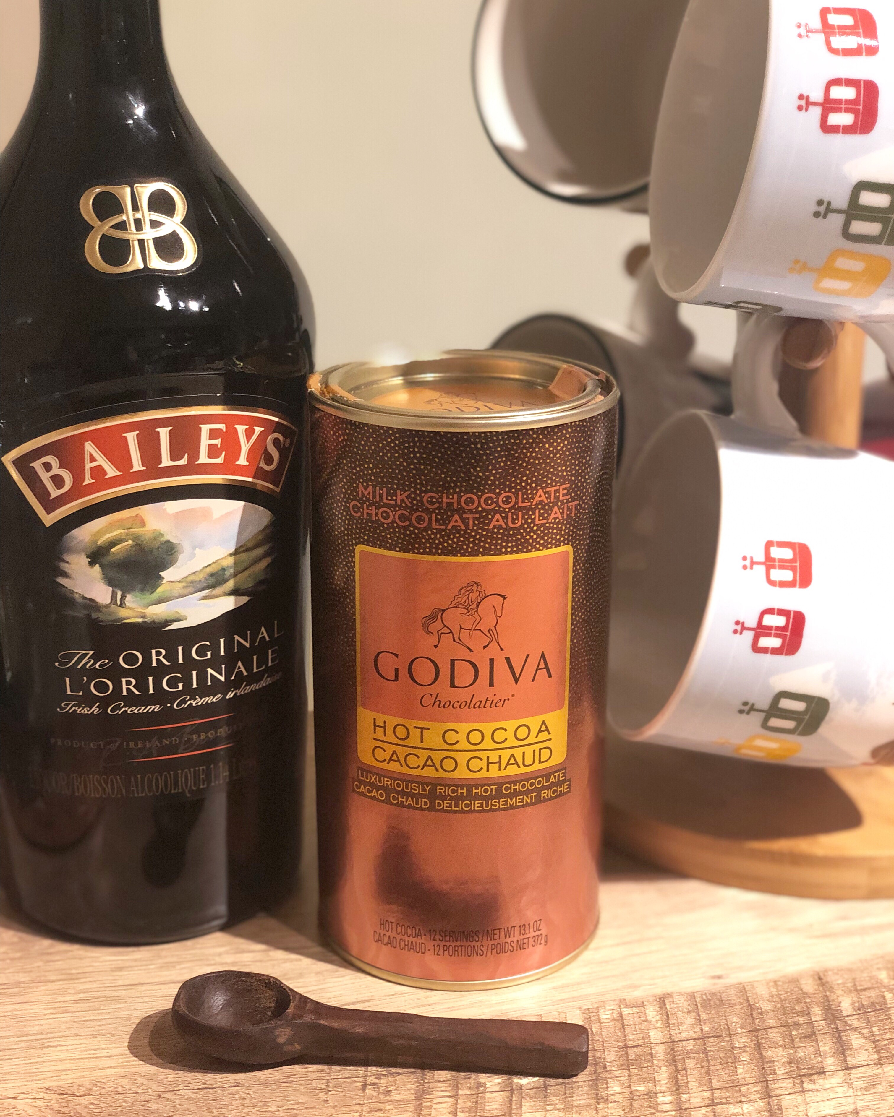 Godiva hot chocolate