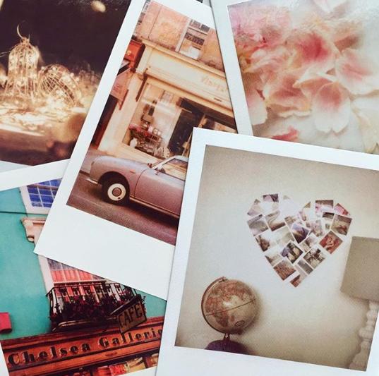 Vintage polaroids