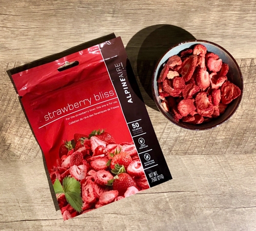 Strawberry Bliss freeze dried strawberries