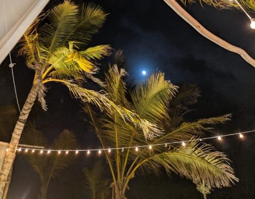 Full moon Punta Cana