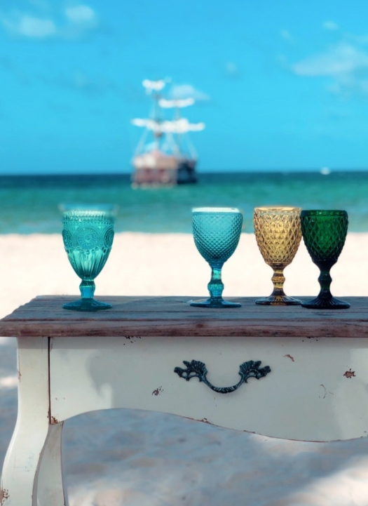 Beach Wedding Pirate Ship
